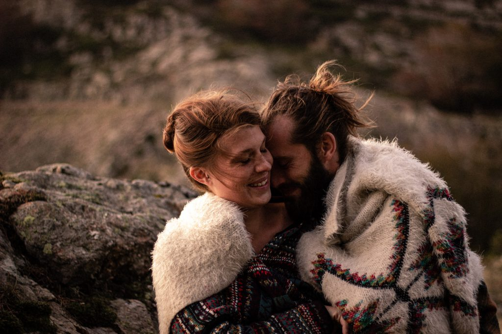 Séance photo couple lifestyle en Cerdagne