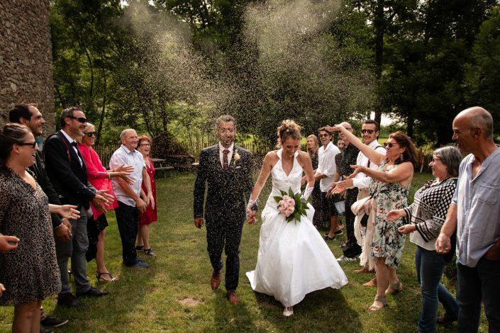 Mariage à Saillagouse dans les Pyrénées Orientales
