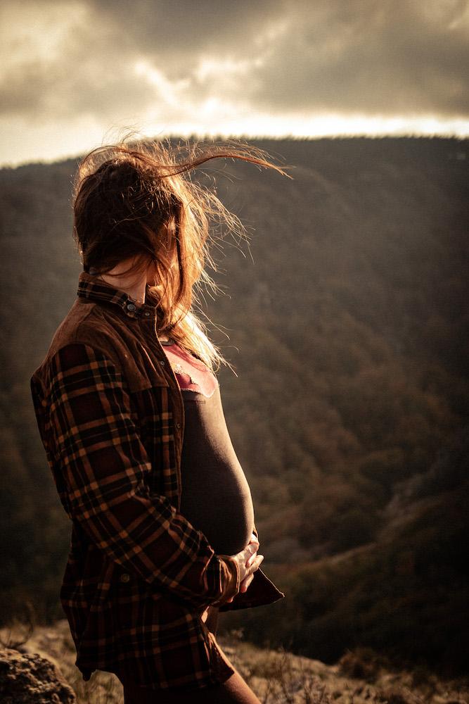 Séance photo avant naissance