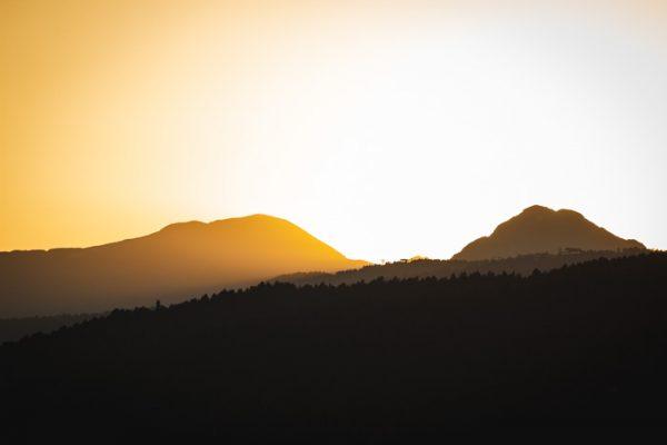 Tirage photo Couché de soleil sur le Carlit - Cerdagne - Pyrénées Orientales