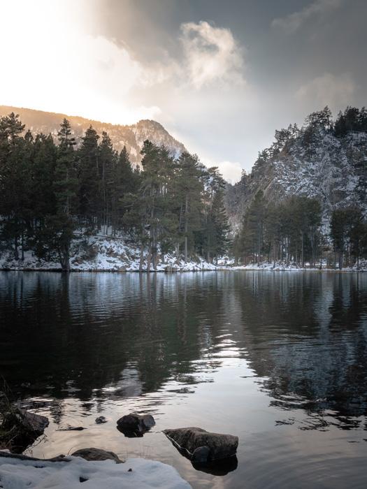 Tirage photo lac de Balcère - Capcir - Pyrénées Orientales