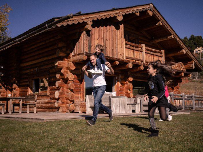 Famille lifestyle à Bolquère village