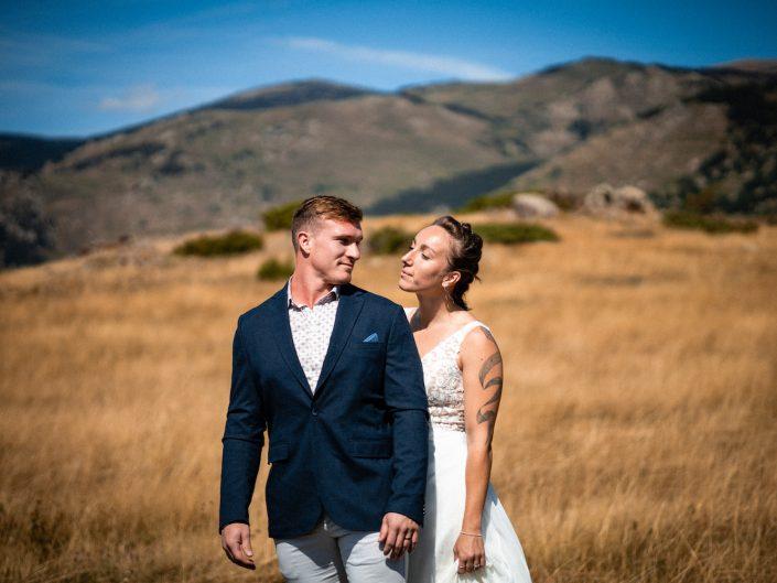 Couple Mariage à Belloc