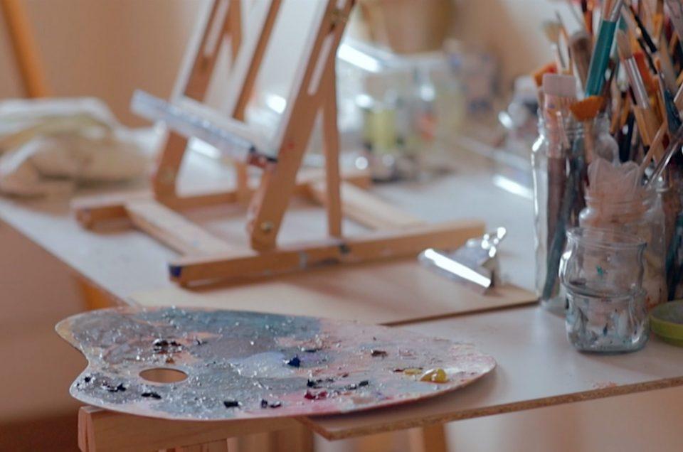 Film artiste peintre en Cerdagne
